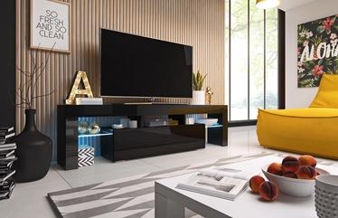 ТВ стол Cama Meble Toro 158, черный, 1580x400x410 мм