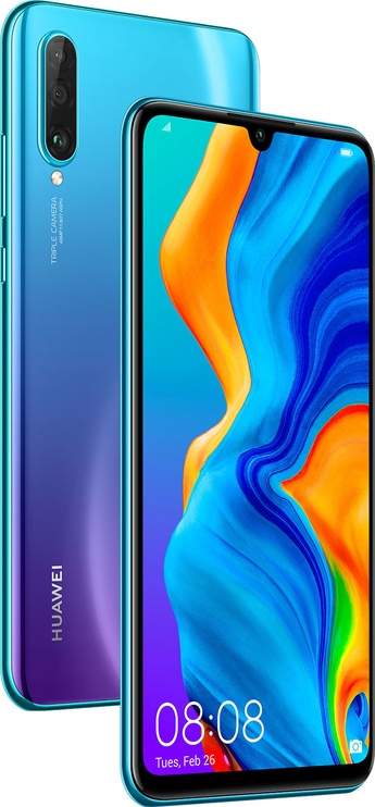Mobilais telefons Huawei P30 Lite Peacock Blue, 256 GB