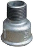 "STP Fittings Cast Iron Bushing Connector Zinc 1 1/4""Fx1""M"