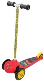 Bērnu skūteris Smoby Twist Cars, zila/sarkana/dzeltena