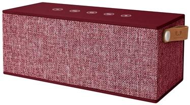 Bezvadu skaļrunis Fresh 'n Rebel Rockbox Brick XL Fabriq Red, 20 W