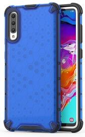 Hurtel Honeycomb Armor Back Case For Samsung Galaxy A70 Blue