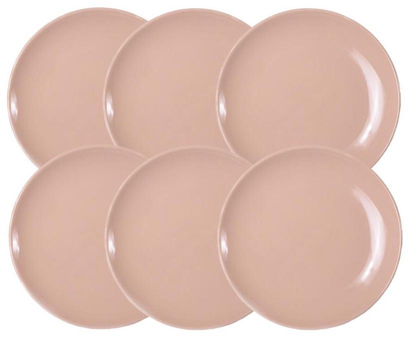 Bradley Alfa Ceramic Plate 27cm Beige 12pcs