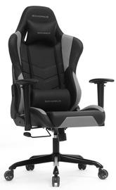 Spēļu krēsls Songmics, melna/pelēka