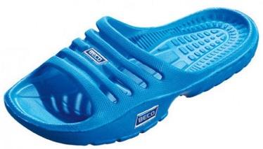 Шлепанцы для бассейна и пляжа Beco 90651 6 Kids Beach Slippers Blue 28