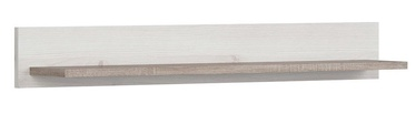 Black Red White Luca Baby Wall Shelf Oak/Sibiu Larch