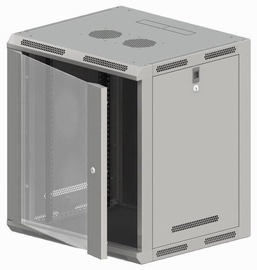 Serveru skapis A-Lan SW-15U-600-600-N-DSJ-OP-RP-B-S