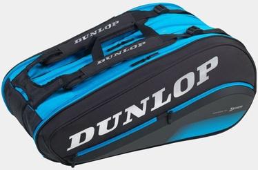 Теннисная сумка Dunlop FX Performance 12 Racket, синий/черный