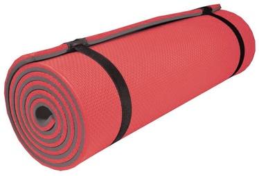 Kempinga paklājs Spokey Large Sleephiker 835218, sarkana/pelēka, 2000x6 mm