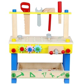 Funikids Wooden Toys Tool Stand 48pcs
