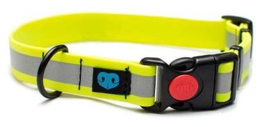 Dogcessories Composite Reflex Biothane Dog Collar M Yellow
