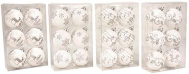 Verners Christmas Tree Balls White 6pcs