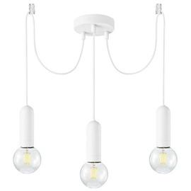 Leuchten Direkt Turn Me Ceiling Lamp 3x60W E27 White