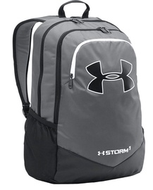Under Armour Storm Scrimmage Backpack 1277422-040 Black Grey