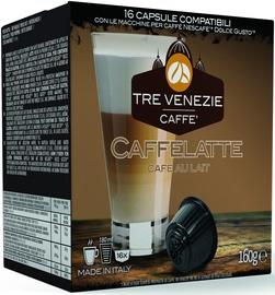 Kafijas kapsulas Tre Venezie Caffelatte, 16 spilventiņi
