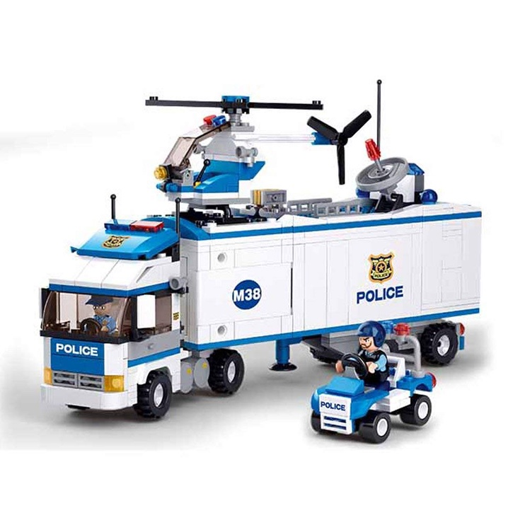 Конструктор Sluban City Police Truck M38-B0376, 572 шт.