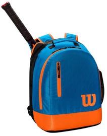 Рюкзак Wilson Youth Backpack Blue/Orange, синий/oранжевый
