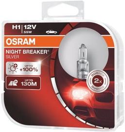 Osram Night Breaker Silver H1 55W 12V Duo