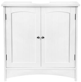 Izlietnes skapis Songmics Washbasin Cabinet White 60x60x30cm