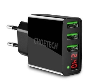 Choetech C0027 Wall Charger Black