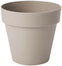 Form Plastic Flower Pot Ibiza Soft Mat Ø16cm 4120-051 Brown/Grey
