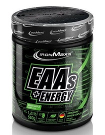 IronMaxx EAAs Plus Energy 550g Green Apple