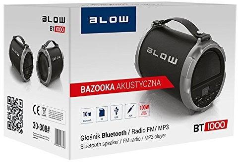 Беспроводной динамик Blow BT-1000 Black, 100 Вт