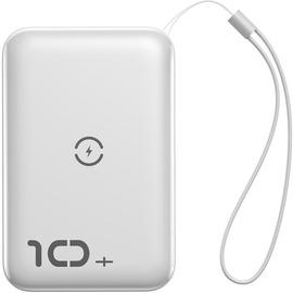 Ārējs akumulators Baseus Mini S White, 10000 mAh