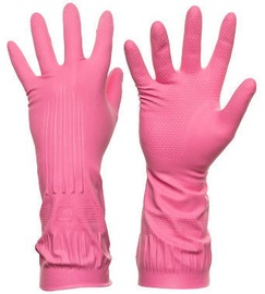 DD Rubber Gloves Pink XL