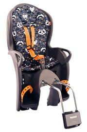 Детское кресло для велосипеда Hamax Kiss Gray/Print