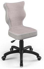 Bērnu krēsls Entelo Petit CR08, melna/rozā, 300 mm x 775 mm