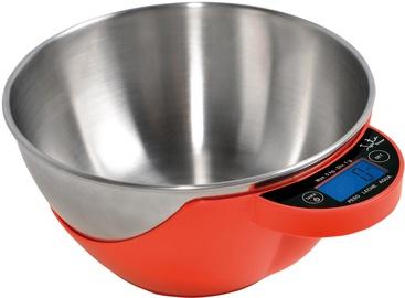 Электронные кухонные весы Jata 765, красный