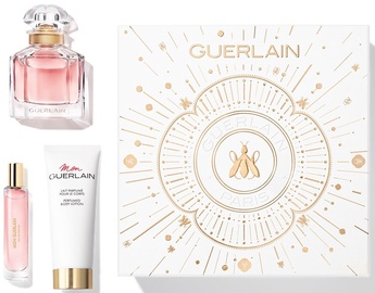 Sieviešu smaržu komplekts Guerlain Mon Guerlain 50 ml EDP + 75 ml Body Lotion + 10 ml EDP