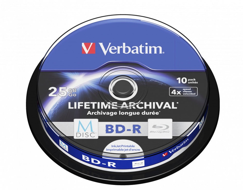 Verbatim M-DISC BD-R 25GB 10pcs