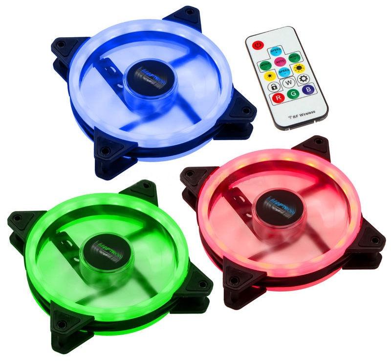Lamptron Fan RGB LED 120mm Set Nova Dual Ring