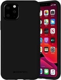 Mercury Fiber Soft Touch Matte Back Case For Apple iPhone 11 Pro Black