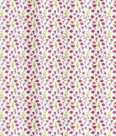 Spirella Mille Fleurs Shower Curtain 180x200cm Pink