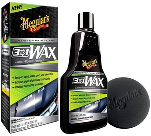 Meguiars 3in1 Wax One Step Paint Care G191016 473ml