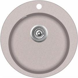 Aquasanita SR100-110W Kitchen Sink Brown 505mm