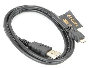 Accura Cable Micro USB / USB Black 1.8m