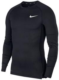 Krekls ar garām piedurknēm Nike NP Top LS Tight BV5588 010 Black S