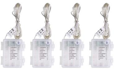 Elektriskā virtene DecoKing LED Micro Fairy, silti balta, 4x5 m