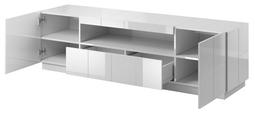 ТВ стол Cama Meble Reja, белый, 1840x450x575 мм
