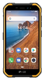 Mobilais telefons Ulefone Armor X6 Black Orange, 16 GB