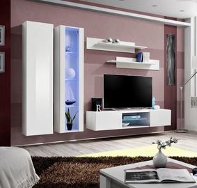 Dzīvojamās istabas mēbeļu komplekts ASM Fly O4 White