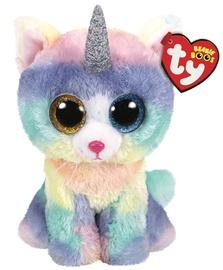 Mīkstā rotaļlieta TY Beanie Boos Heather Cat 36753, daudzkrāsains, 42 cm