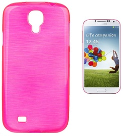 Forcell Jelly Brush Back Case For Samsung i9500 Galaxy S4 Pink