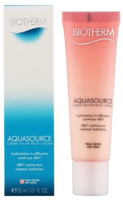 Sejas krēms Biotherm Aquasource Rich Cream Dry Skin, 30 ml
