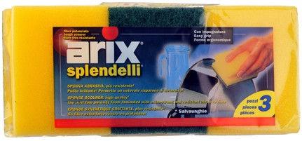 Arix Splendelli Scouring Sponge 3pcs