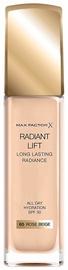 Tonizējošais krēms Max Factor Radiant Lift Foundation 65MFRB Rose Beige, 30 ml